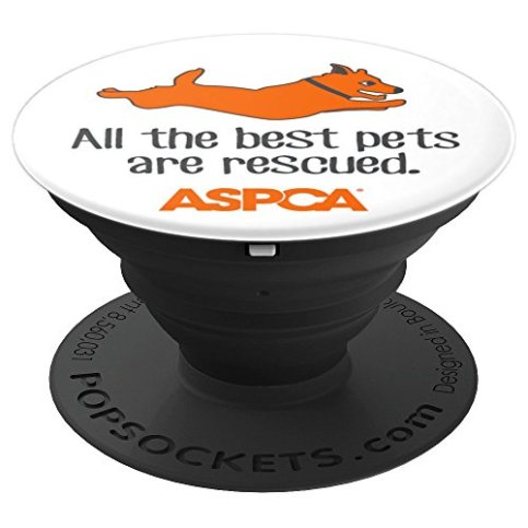 ASPCA-All-the-Best-Pets-Are-Rescued-Popsocket-Dog-PopSockets-Grip-and-Stand-for-Phones-and-Tablets