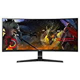 LG 34UC89G-B 34-Inch 21:9 Curved UltraWide IPS Gaming Monitor with G-SYNC