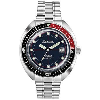 Men's Bulova Archive Series Devil Diver Oceanographer Special Edition Bracelet Watch 98B320
