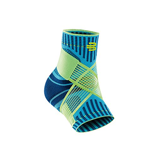 Bauerfeind Sports Ankle Support - Breathable Compression (Rivera, XX-Large/Left)