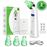 Blackhead Remover Vacuum - Electric Pore Vacuum Cleaner Blackhead Extractor Tool Device Comedo Removal Suction Beauty Device with LED Display for Facial Skin Treatment