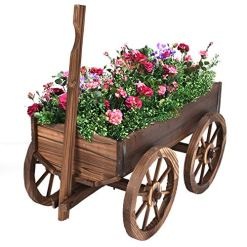 Wagon Flower Planter Stand