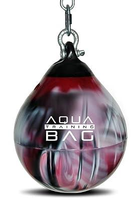 Kick Boxing Uppercut Bag - Blood Red Aqua Head Hunter Slip Ball Punching Bag