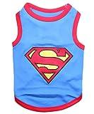 Parisian Pet Superman Dog T-Shirt, Large