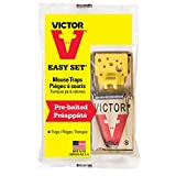 Victor Easy Set Mouse Traps (Pack of 10)