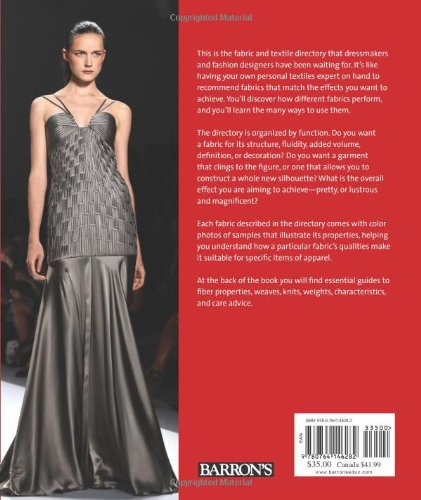 The Fashion Designer S Textile Directory A Guide To Fabrics Properties Characteristics And Garment Design Potential Lance Publishing Studio