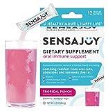 SENSAJOY Natural Canker Sore Treatment - Healthy Mouth, Happy Life! Relief, Healing & Prevention (ProBiotics, Lysine, B12, Zinc, More)