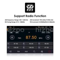 hizpo-Android-90-Double-Din-Car-Stereo-Radio-for-Toyota-RAV4-2006-2012-Support-GPS-Navigation-7-Inch-Touch-Screen-WiFi-Mirrorlink-Steering-Wheel-Control-DVD-Player-Reversing-Camera