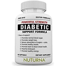 Diabetic Support Supplement - 28 VITAMINS Minerals & Herbs for Blood Sugar Support - Healthy Body Weight & Extra Energy Support Naturally - Premium Diabetes Multi-Vitamin For Men & Women Best 60 packs