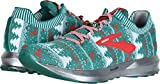 Brooks Men's Levitate 2 Green/White/Red (Holiday Edition) 10 D US