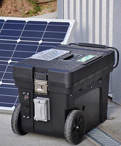 Solar Generator 2500 Watt (2) 100 Watt Solar Panels + BatteryMINDer Charger!