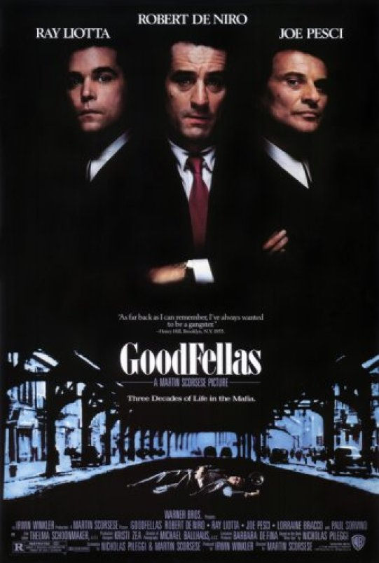 Image result for goodfellas poster