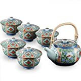 Arita yaki CtoC JAPAN Tea set(Tea pot x1pcs Cup x5pcs) Porcelain Size(cm) Tea, pot, dia.16.5x12.8x9, Cup, dia.10x8 ca051277