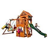 Backyard Discovery Atlantis All Cedar Wood Playset Swing Set