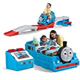 Product review for Step2 Thomas The Tank Engine Bedroom Set For Kids, Includes Toy Box, Toddler Bed, Roller Coaster