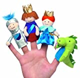 Manhattan Toy Storyime A Day at the Castle Finger Puppet Set