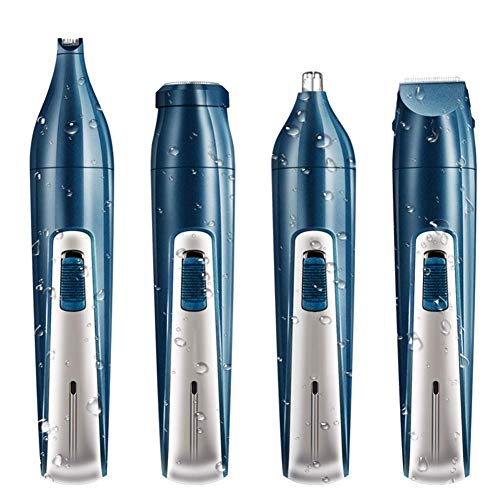 ALXDR Electric Razor for Men Beard Nose Hair Trimmer Hair Cutter 4 in 1 Mens Grooming Kit