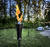 Outdoor Gas Propane Torch - 71-Inch 7,000 BTU Portable Ambient Yard Lights for Backyard Deck Lighting (1-Pack/20 LB Propane Tank)