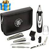 Urban Gent Esq 2019 Edition Ear and Nose Hair Trimmer Beard 8 Piece Mens Grooming Kit