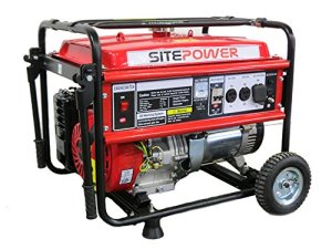 SitePower SPG8000 8,000 Peak Watt Gas Powered Portable Generator