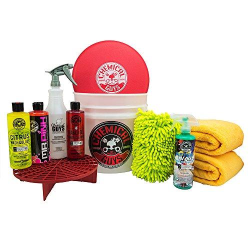 Chemical Guys HOL121 Best Car Wash Bucket Kit (11 Items)