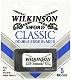 Wilkinson Sword Double Edge Razor Blade Refills for Men - 5 Count