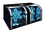 Dual Electronics BP1204 12 inch illumiNITE High Performance Studio Enclosed Car Subwoofers with 1,100 Watts of Peak Power