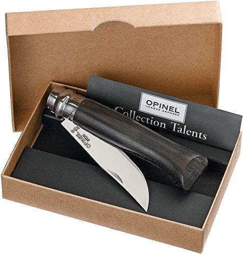 Opinel No6 Bechwood Handle Stainless Steel Folding Locking Pocket Knife