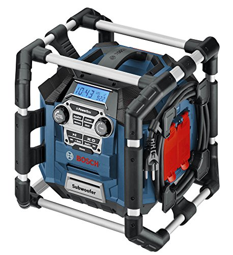 Bosch PB360S 18-Volt Lithium-Ion Power Box Jobsite Radio and Charger