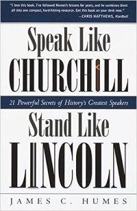 Image result for Speak like Lincoln, Stand like Churchill