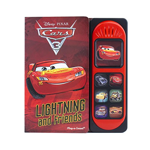 Disney Pixar Cars 3 - Lightning McQueen and Friends Little Sound Book - Play-a-Sound - PI Kids