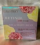 Ellen Tracy Retinol with Rose Day/Night Cream to prevent dry skin. 1.77 OZ