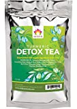 Shifa Detox Tea With Turmeric: Detoxifying Formula with Herbs, Phytonutrients and Antioxidants for Gut Cleansing and to Reduce Bloating - 1.75 0z