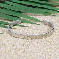 Jewelry Mantra Cuff Bangle