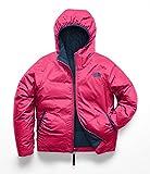 The North Face Kids Girl's Reversible Perrito Jacket (Little Kids/Big Kids) Atomic Pink Medium