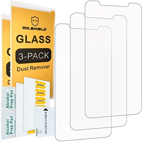[3-Pack]-Mr.Shield Screen Protector for iPhone 11 / iPhone XR [Tempered Glass] Screen Protector [Japan Glass with 9H Hardness] with Lifetime Replacement