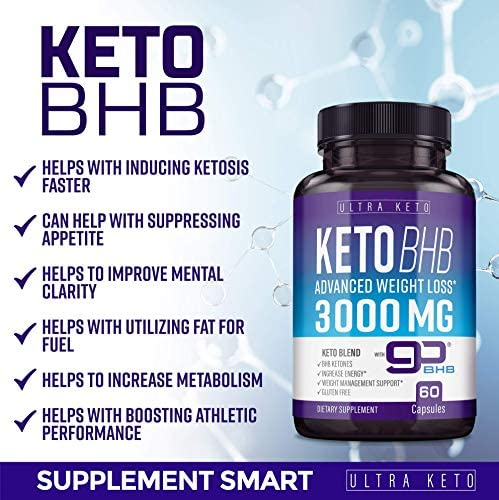 Best Keto Diet Pills - Utilize Fat for Energy with Ketosis - Boost Energy & Focus, Manage Cravings, Support Metabolism - Keto BHB Supplement for Women and Men - 30 Day Supply 7