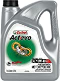 Castrol 03130 Actevo 10W-40 Part Synthetic 4T Motorcycle Oil - 1 Gallon Jug, (Pack of 3)