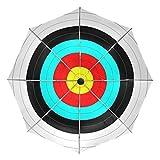 LEISISI Archery Target Auto Open Close Umbrella Travel Compact Umbrella