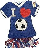 I Love Soccer Jersey Pinata