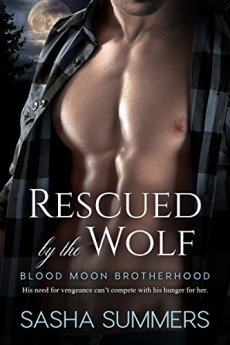 Rescued by the Wolf (Blood Moon Brotherhood) by [Summers, Sasha]