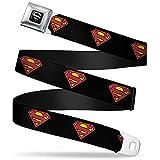 Buckle-Down Seatbelt Belt Superman XL