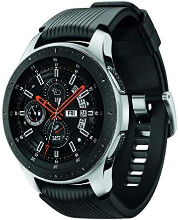 Samsung Galaxy Watch smartwatch (46mm, GPS, Bluetooth) – Silver/Black (US Version with Warranty) 4