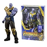 GOODKSSOP Joint Flexible Movable Infinity War Super Hero Thanos Classic Character Action Figure Model Toy Xmas Gift