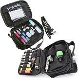 HUIZHU Empty Multi-Functional case Vape Carrying case Shoulder Bag((Black)
