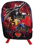 """DC Comics Batman Superman 16"""" Backpack (Batman v. Superman 1)"""