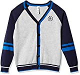 Product review for Kid Nation Boys' V-Neck Color Block Cardigan Sweater with Stripes