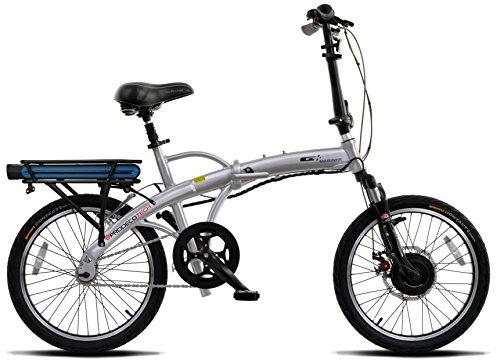 "ProdecoTech Mariner v5F 36V200W 1 Speed Electric Bicycle 10Ah Samsung Li ion, Brushed Aluminum, 17""/One Size"