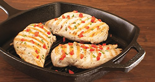 Lodge Pre-Seasoned Cast Iron Grill Pan