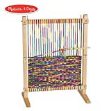 Melissa & Doug Wooden Multi-Craft Weaving Loom (Arts & Crafts, Extra-Large Frame, Develops Creativity and Motor Skills, 16.5' H x 22.75' W x 9.5' L)